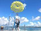 【沖縄・うるま市】大人気!東海岸で楽しめる!パラセーリングツアー!の様子
