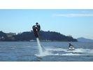 【愛知・三河湾】ホバーボード体験コース(10分)の様子