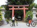【山梨・河口湖】富士山世界文化遺産を巡る!ガイドサイクリング(MTB)の様子