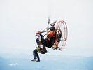 """【湘南/茅ヶ崎】""""空を飛びたい""""その夢、願いを叶えます!パラグライダー体験(タンデムフライト)の様子"""
