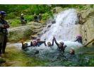 【滋賀・キャニオニング】Lv.2八淵の滝コースの様子