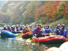 【京都・保津川】ラフティングツアー(1日コース)の様子