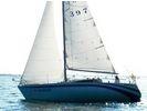【滋賀・琵琶湖】琵琶湖でセーリング!気軽にヨット体験の様子