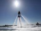 【兵庫・姫路】初心者大歓迎!水圧で空を飛ぶフライボード体験の様子