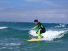 【鳥取/浦富海岸】サーフィン体験★「日本の渚百選」の自然景勝地で波をつかまえよう!の様子