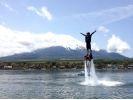 【山梨・山中湖】いっぱい楽しみたい方に!フライボード体験(初心者ぞんぶんコース)の様子