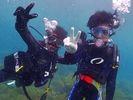 【神奈川県・湘南・江ノ島】手軽に体験ダイビング1日コース「水中写真・無料プレゼント」の様子