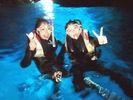 【青の洞窟・ボートエントリー】大人気!青く神秘的な幻想空間「青の洞窟」シュノーケルツアーの様子