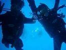 【北海道・支笏湖】体験ダイビングの様子