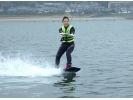 【愛知・三河湾】ウェイクボード体験2セット  (モーターボートコース) 2名より受付の様子