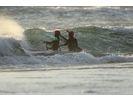 【 静岡・清水】陸上練習だけじゃ物足りない!カイトサーフィン体験Kitesurfingの様子