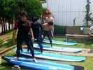 【茨城・大洗海岸】サーフィン体験コースの様子