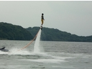 【長崎・長崎】回転・宙返りも自由自在!!ジェットブレード体験30分コースの様子