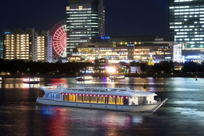 東京 屋形船 夜景
