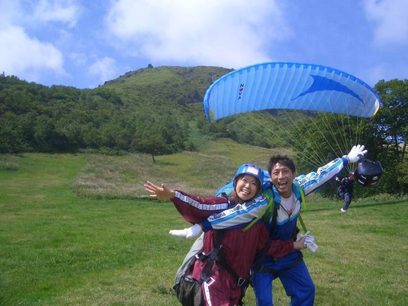 KPS那須滑翔傘學校推薦