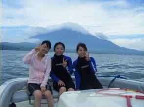 【山梨・山中湖】富士山を観ながら!スタンドアップパドルボート体験(60分)【午前】
