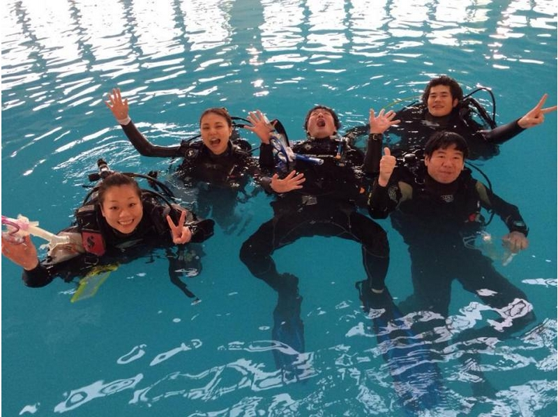 [Hiroshima ・ Fukuyama】 Getting licenses! Day trip ☆ scuba diver course