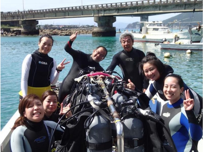 [Hiroshima ・ Fukuyama】 Getting licenses! Short-term concentration! Scuba diver course which doubles as accommodation
