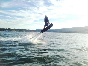 【静岡・浜名湖】初めての方歓迎!ホバーボード体験(初回15分コース)の画像