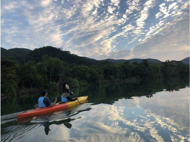 【鹿児島・奄美大島】サンセットマングローブカヌー体験(貸切可)
