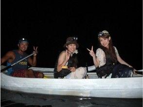 ★貸切案内★【鹿児島・奄美大島】アウトリガーカヌーで行く!マングローブナイトカヌーツアー(120分)