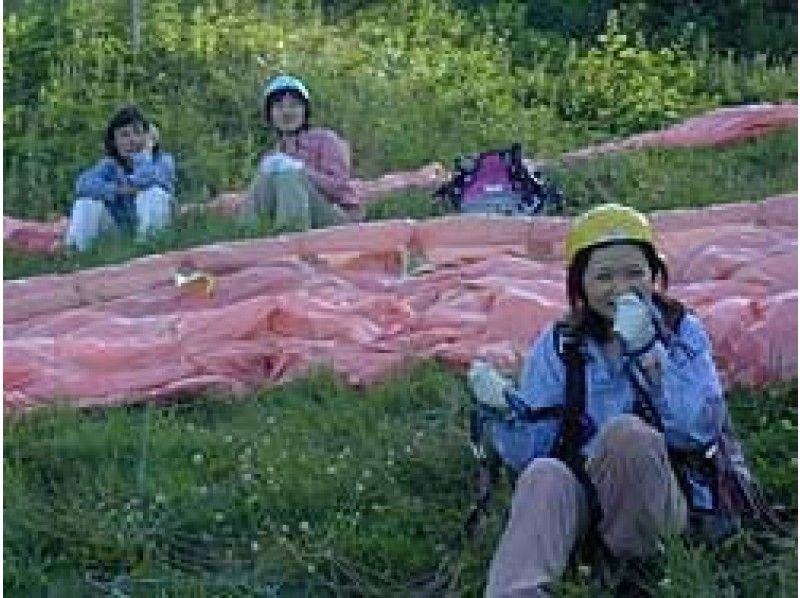 [長野·Himekidaira]夢想散步可以享受★滑翔傘一天的體驗計劃