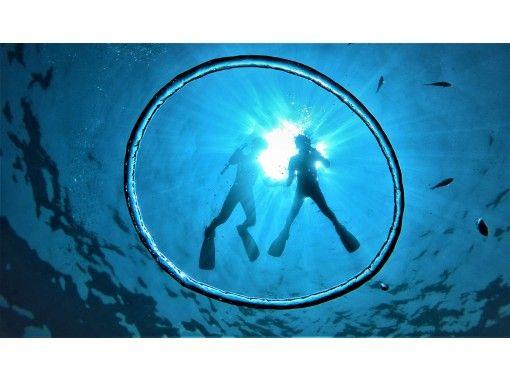 [沖縄藍洞浮潛]評價★可當日預訂★gopro Photo動畫當場免費轉移到您的智能手機♪餵食,免費穿涼鞋の紹介画像