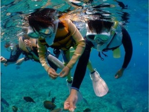 【 โอกินาว่า ·ถ้ำสีฟ้า】 Churaumi ดำน้ำตื้นและปลาเขตร้อนและถ้ำสีฟ้าทัวร์ทัวร์ความสนุกสนานภาพถ่าย / วิดีโอแจกในจุด♪