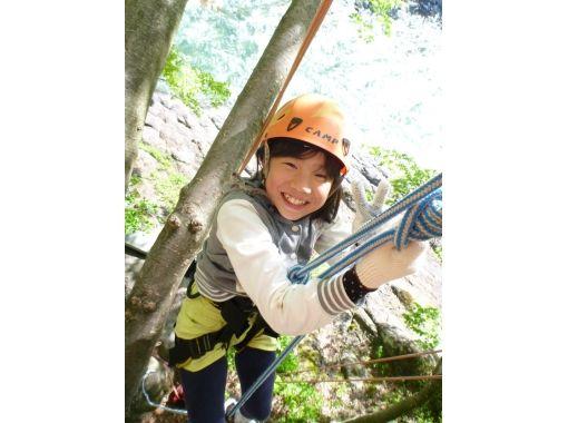 大自然への入口! 木のぼり体験