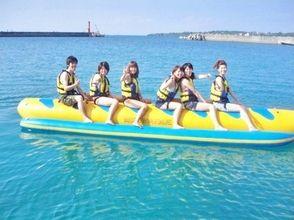 【沖縄県・国頭郡】爽快!!バナナボート&マリンジェットの画像