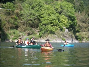 [Shimane Gōnokawa River] peace of mind even for beginners! Leisurely canoe-kayak experience Gōnokawa River! Image of