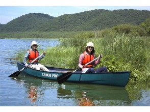 [Hokkaido Kushiro] leisurely course aimed at healing canoe ♪ rock Hoki floodgate