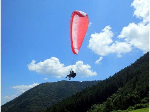 【愛媛・内子町】大空への夢を叶えるパラグライダー「タンデム体験コース」安心のベテランインストラクター
