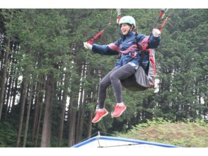 【茨城・つくば】高い所から飛んでみたい!初級ライセンスB級取得コースの画像