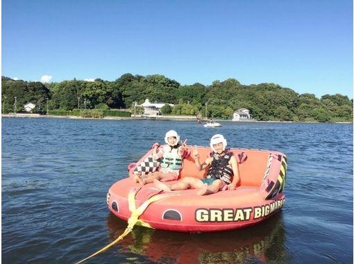 【静岡・浜名湖】みんなでワイワイ楽しめる!チュービング体験【家族や友達と】の紹介画像