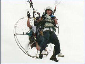 【秋田・秋田市/男鹿市】秋田では当スクールだけ!モーターパラグライダー2人乗り体験の画像