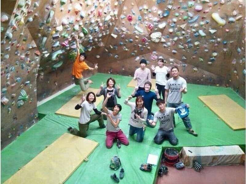 [Osaka/ Kita-ku, Osaka] 3-hour Bouldering pack for beginners (including lessons and various Rental)