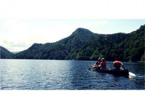 【北海道・さっぽろ湖】定山渓ダムを一望できるカヌーツアー!の画像
