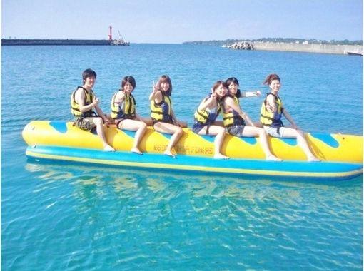 【沖縄県・国頭郡】一味違う!?バナナボート