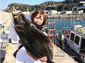 【千葉・勝浦】鯛やヒラメなど大物を釣り上げよう!クルーザーで行く船釣り体験!初心者歓迎!乗合プラン