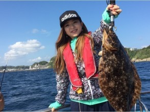 [Chiba Katsuura] Tsuriageyo the big game, such as yellowtail and sea bream! Image of boat fishing experience to go with cruiser