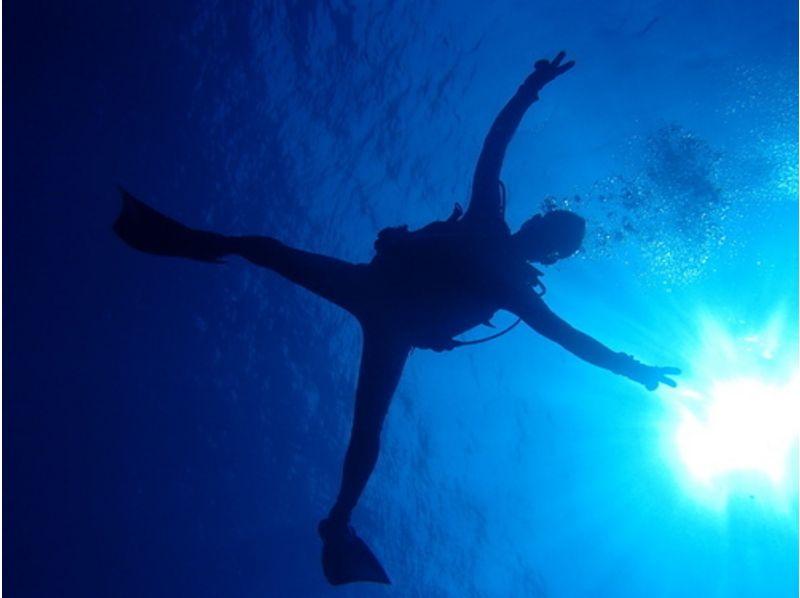 [โอกินาวา Yonaguni] สนุกสนานในขณะที่เรียนรู้มัน♪หลักสูตรใบอนุญาตดำน้ำ (3 วัน) ของภาพเบื้องต้น