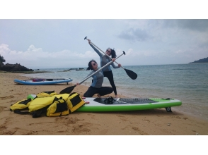 [Okinawa southern] around Chinenmisaki sea kayak or SUP experience (underwater search or uninhabited sand course)