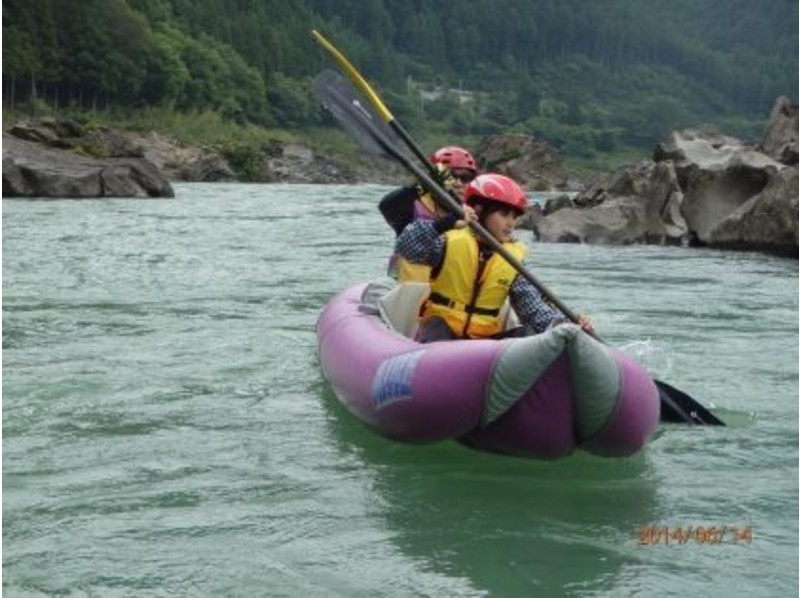 [Tokushima ・ Nakagawa】 Even a basic course is thrilling! Ducky boat rafting Experience (Introductory A Course)