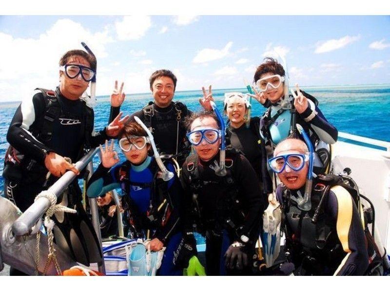 會[仙台,山形]潛水員!當天的公開水域課程簡介形象兩天(許可證課程)