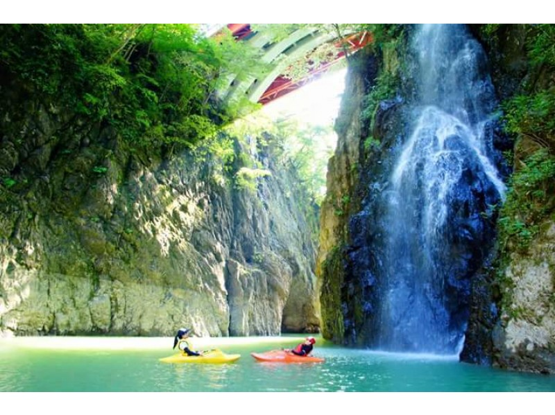 [Gunma ・ Water / Minakami] Nature Kayak Experience [Small Number of participants] (Sarugakyo Hot spring area)