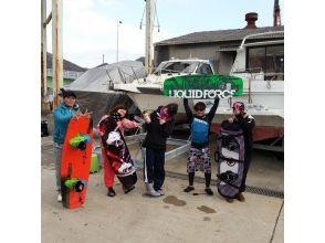 【広島・竹原】瀬戸内海でとことんウェイクボード!レンタルボート3時間(ドライバー付き)の画像