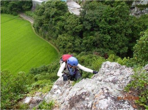 【徳島・石門】基礎からしっかりフリークライミング!ロッククライミング体験