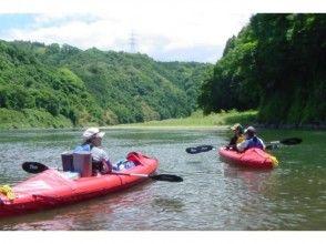 【茨城・那珂川】川下り&キャンプ体験!那珂川カヌーキャンプツアー(1泊2日)の画像