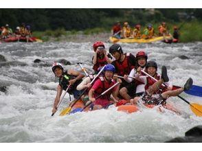 【熊本・球磨川】ラフティング 河原でBBQ付きプラン【Bコース】の画像